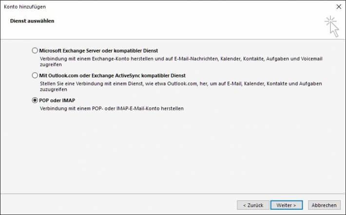Serverspot.de - FAQ  Wie richte ich mein Email-Programm für mein Postfach ein?
